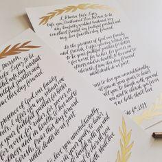 Wedding Vow Calligraphy, wedding vows Wedding Anniversary Gift, Gift Ideas for her, hand-written vows, calligraphy artwork