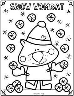 Coloring Club Library — From the Pond Fun Activities For Kids, Preschool Activities, Colouring Pages, Coloring Books, Kindergarten Coloring Pages, Alphabet Letter Crafts, Printable Coloring Sheets, Ecole Art, Color Club