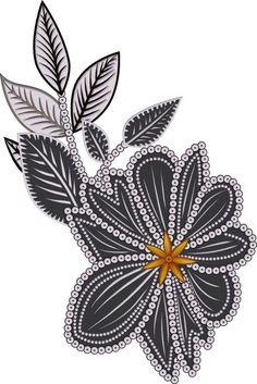 Lotus Flower, Flower Art, Pattern Art, Pattern Design, White Things, Jacobean, Border Design, Japanese Art, Tattoos