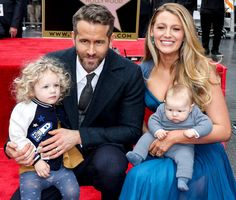 Ryan Reynolds and Blake Lively With Their Children, Beautiful Family - Xavier Collin/Image Press/Splash News Online