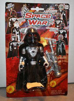Star Wars DARTH VADER China Knock Off / Bootleg Toy Galaxy Space War Mint Sealed