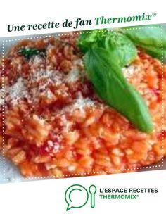 Risotto au chorizo par Enlano. Une recette de fan à retrouver dans la catégorie Pâtes & Riz sur www.espace-recettes.fr, de Thermomix®.