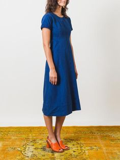 Indigo Sybil Dress