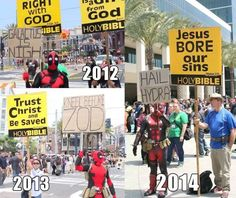 Funny pictures about Deadpool Marching With His People. Oh, and cool pics about Deadpool Marching With His People. Also, Deadpool Marching With His People photos. Marvel Funny, Marvel Memes, Marvel Dc, Marvel Comics, Funny Comics, Hydra Marvel, Dc Memes, Funny Memes, Hilarious