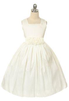 Addison Girls Formal Dress - Ivory