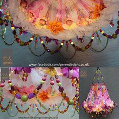 Paradise- bespoke lampshade from Geren.  www.facebook.com/gerendesigns.co.uk