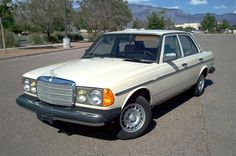 1984 Mercedes 300D. My grandmother had this car and loved it.