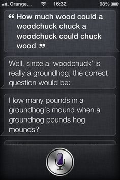 A new take on the old woodchuck tongue twister.........