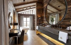 luxurious sauna rooms in mountain ski homes | ULTRA LUXURY CHALET IN LECH | Kingsavenue.com