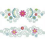 Florette Borders Lovely designs to mix and match into your own.