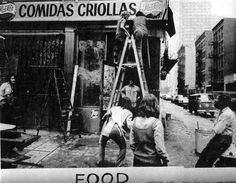 Some inspiration before we go: FOODis a short film directed by aritst/photographer Robert Frank about Gordon Matta-Clark and Carol Gooden'sconceptual restaurant. Founded in 1972 in the SoHo…