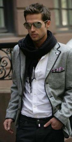 Gafas, pañuelo, bufanda...