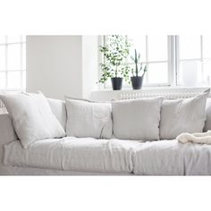 Le Grand Air sofa, Misty Grey – Decotique #interior #design #scandinavian