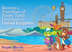 Do you have plans to start a Pre-School, set up play school, Open a nursery or an early learning center in United Kingdom?  Purple Turtle Preschool provides excellent opportunity to those wanting to step in to preschool & childcare industry. Join the best preschool franchise Network Today! For details visit: www.purpleturtle.com/preschool/ You can email us at franchise@purpleturtle.com or  Call us at 0755-4270555, 0755-2555442 Fax: 0755-2555449