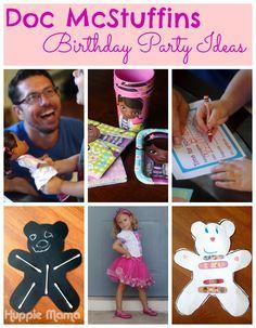 Lots of Doc McStuffins Birthday Party Ideas  for your little Disney Junior fan. #JuniorCelebrates #shop #cbias
