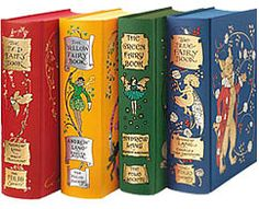 Rainbow Fairy Books by Andrew Lang - clothbound set by Folio (Andrew Lang fairy tale books are THE BEST EVER)