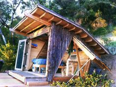 Tiny Off-Grid Hawk House has Soaring Views of the Big Sur Mountains