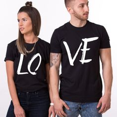 Twinning has never been cooler with these Bad Hombre & Nasty Woman T-shirts! Couple Tees, Matching Couple Shirts, Couple Tshirts, Matching Couples, Matching Family Outfits, Cute Couples, Romantic Couples, T Shirt Painting, Country Girls Outfits