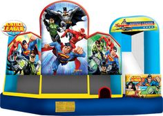 How To Buy Low-price And Best Justice League Jumper Combo Five? Our Provide Commercial Bounce House, Discount Water Slide, Cheap Bouncy Games In Sale Inflatables Online Commercial Bouncy Castles For Sale, East Inflatables Manufacturer In UK