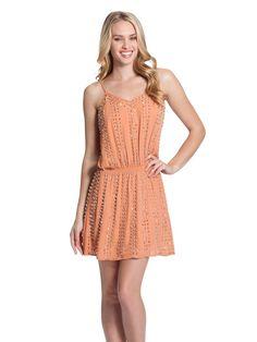 $138 GUESS Sleeveless Deco Beaded Dress