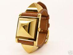 2fbe8738daa4 hermes medor watch Hermes Montre, Montres, Bracelet Hermès, Montre Bracelet,  Bracelets Jonc