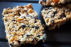 Quinoa Energy Bars - healthy (er) version of rice krispy treats!