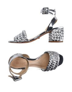 Schutz Women Sandals on YOOX. The best online selection of Sandals Schutz. YOOX exclusive items of Italian and international designers - Secure payments Ankle Strap Flats, Heels, Leather, Shopping, Design, Fashion, Cute Shoes, Heel, Moda