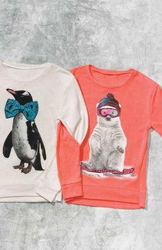 Brrr! Penguin & Polar Bear Sweatshirts