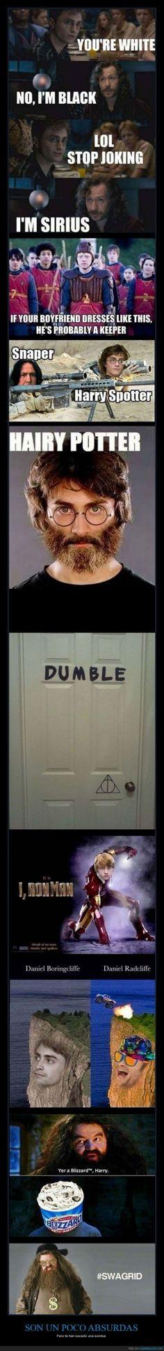 Si entiendes inglés y te gusta Harry Potter, esto es para ti - Pero te han sacado una sonrisa
