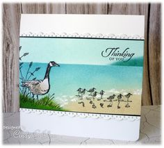 Sandpiper Beach by frenziedstamper - Cards and Paper Crafts at Splitcoaststampers