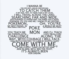 Pokemon Theme Song Pokeball Vinyl Wall Decal for Teen/ Pre-Teen/ Boy or Girl Bedroom, Playroom, or Gameroom by LilyAnneDesigns7 on Etsy https://www.etsy.com/listing/218127819/pokemon-theme-song-pokeball-vinyl-wall