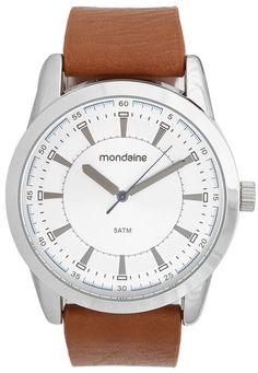 8b4ab98e73f52 Relógio Mondaine 99072G0MVNH1 Prata Caramelo - Marca Mondaine Silver, Brazil,  Candy, Clocks
