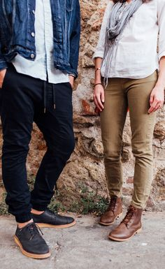 Adventure Casual: TOMS Brogues and Alpa Boots