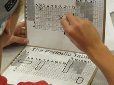 Playing Battleship with the periodic table! AWESOME!