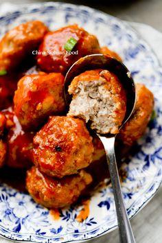 Chinese sweet and sour balls @elaineseafish