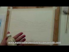 """Watercolor Painting  """"All About Masking Fluid"""" - FREE Tips'n'Tricks lesson - by Annette Raff"""