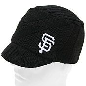 San Francisco Giants Women's Carrien Visor Knit Cap by '47 Brand - MLB.com Shop
