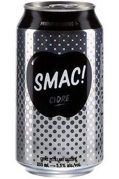 Smac par La face cahcée de la pomme: parfait pour les soirées BBQ! #Cidre #Smac #origineQuebec