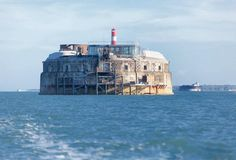 Spitbank Fort, Portsmouth Solent. Where Duke sends the women and children, The Woodman book 2 and 3. G. H. Bright on Amazon