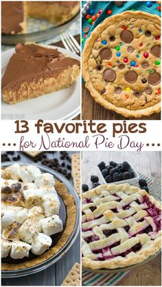 January 23 is National Pie day! Here are 13 pies to celebrate with.
