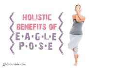 Eagle Pose has it all — balance, strength, and #flexibility. Thumbs up if you <3 this pose! #focus #twist