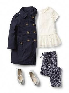 Baby Clothing: Toddler Girl Clothing: shop by outfit her new arrivals Toddler Girl Style, Toddler Girl Outfits, Toddler Fashion, Toddler Girls, Toddler Hair, Little Girl Outfits, Little Girl Fashion, Boy Fashion, Fashion Clothes