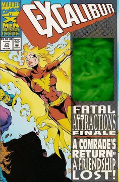 EXCALIBUR Vol1 71 (1993)   Fatal Attractions   Major EVENTS of the Marvel UNIVERSE