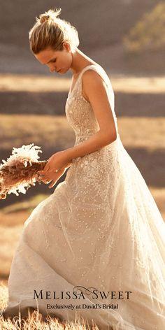 Brand new Melissa Sweet designer wedding dresses have arrived at David's Bridal. Come find the one for you!