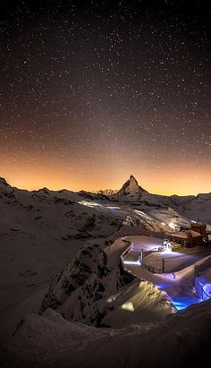 Matterhorn Under the Stars, Switzerland