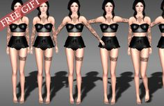 Second Life Freebies and more: StandStill Pose HUD