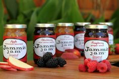 Jammit! Jam - six fruit forward flavors blended with wine and spirits