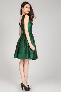emerald-green-cocktail-dress- | Green Cocktail Dress | Pinterest ...