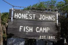 Visit a real Florida fish camp