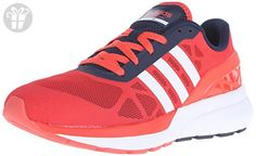 adidas NEO Men's Cloudfoam Flow Shoe,Bright Red/White/Collegiate Navy,6.5 M US (*Amazon Partner-Link)